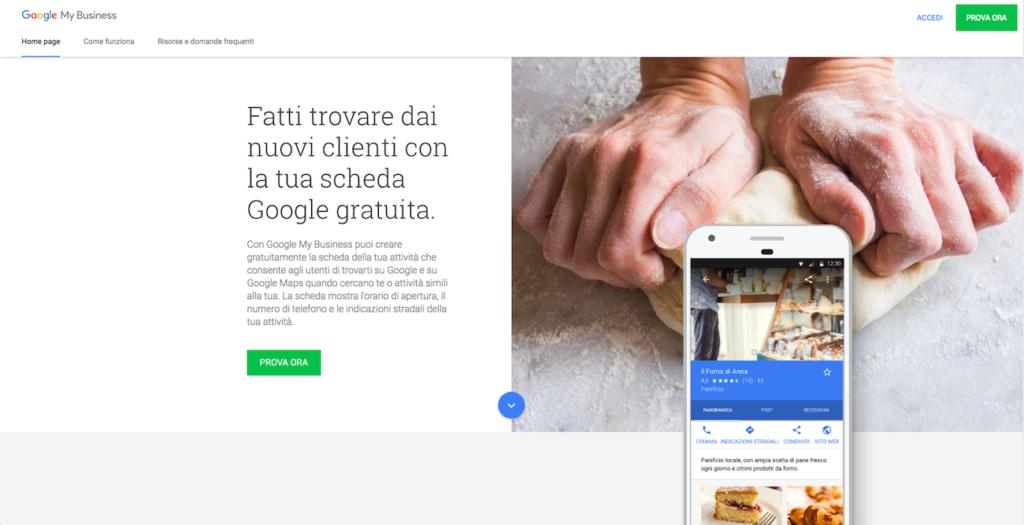 web marketing per ristoratori google my busines